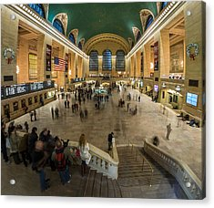 Acrylic Print featuring the photograph Grand Central Station by Steve Zimic