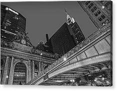 Grand Central Terminal Gct Nyc Acrylic Print by Susan Candelario