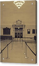 Grand Central Terminal Line Acrylic Print by Dan Sproul