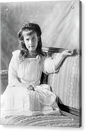 Grand Duchess Anastasia Of Russia Acrylic Print by Library Of Congress