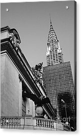 Grand Empire State Acrylic Print by Alison Tomich