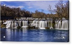 Grand Falls In Joplin Missouri Acrylic Print