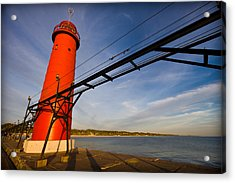 Grand Haven Lighthouse Acrylic Print