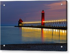 Grand Haven South Pier Lighthouse Acrylic Print
