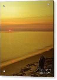 Grand Haven Sunset II Acrylic Print