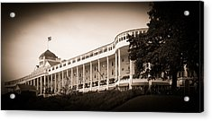 Grand Hotel Acrylic Print by James Howe