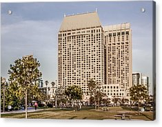 Grand Hyatt San Diego Acrylic Print by Photographic Art by Russel Ray Photos