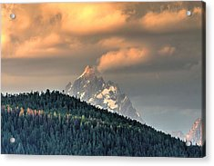 Grand Morning Acrylic Print by David Andersen