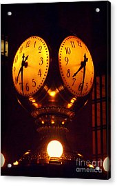 Grand Old Clock - Grand Central Station New York Acrylic Print