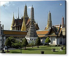 Grand Palace Bangkok Acrylic Print