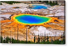 Grand Prismatic Spring Limited Edition Acrylic Print