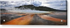 Grand Prismatic Spring Acrylic Print