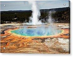 Grand Prismatic Spring, Yellowstone Park Acrylic Print