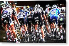 Grand Prix Criterium Art Acrylic Print by Beverly Guilliams