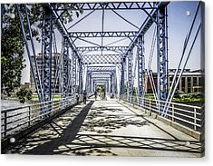 Grand Rapids Bridge Acrylic Print