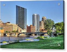 Grand Rapids Mi100 Art Prize Acrylic Print by Robert Pearson