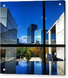 Acrylic Print featuring the photograph Grand Rapids Museum Of Art by Toni Martsoukos