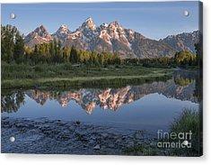 Grand Teton Awakening Acrylic Print