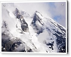 Grand Teton Glacier Acrylic Print