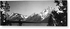 Grand Teton Mountains 1949 Acrylic Print
