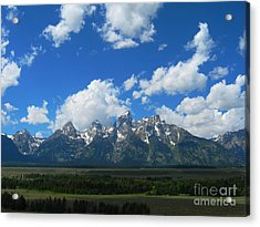 Acrylic Print featuring the photograph Grand Teton National Park by Janice Westerberg