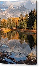 Grand Teton Reflection Acrylic Print