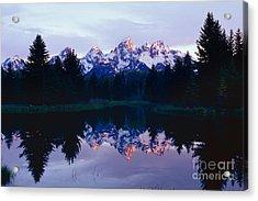 Grand Teton Reflex Acrylic Print