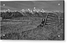 Grand Teton Repose Acrylic Print