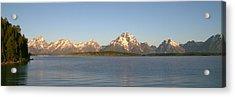 Grand Teton Sunrise Acrylic Print by Brian Harig