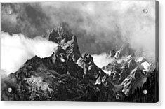 Grand Tetons Acrylic Print by Charles Kosina