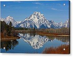 Grand Teton's Acrylic Print
