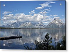 Grand Tetons In The Morning Light Acrylic Print