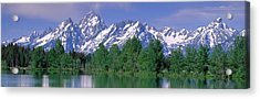 Grand Tetons National Park Wy Acrylic Print
