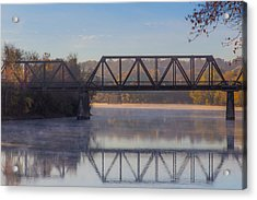 Grand Trunk Railroad Bridge Acrylic Print