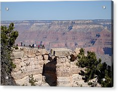 Grand View Acrylic Print by Gerald Dobbin