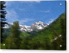 Grand View Acrylic Print by Kevin Bone