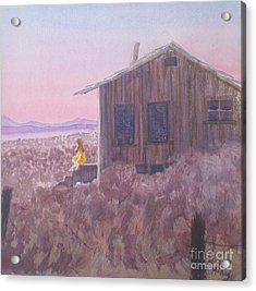 Granddad's Cabin Acrylic Print