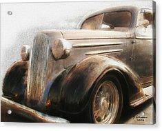 Granddads Classic Car Acrylic Print