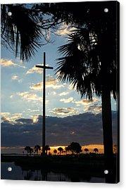 Grande Cross Acrylic Print by Phil King