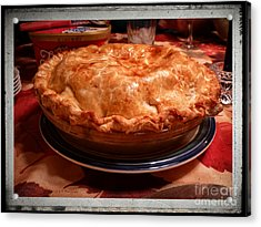 Grandma's Best Apple Pie Acrylic Print