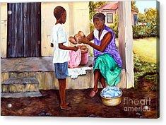 Grandma's Creole Bread Acrylic Print