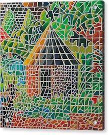 Grandma's House Acrylic Print by Anthony Mwangi