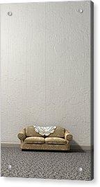 Grandmas Lonely Sofa Acrylic Print