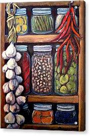 Grandma's Pantry Acrylic Print by Gretchen Allen