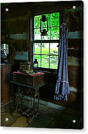 Grandma's Things Acrylic Print by Julie Dant
