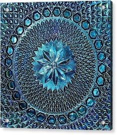 Grandmother's Antique Platter Acrylic Print by Kathi Mirto