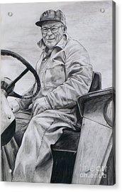 Grandpa Acrylic Print