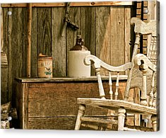 Grandpa's Front Porch Acrylic Print by Penny Meyers