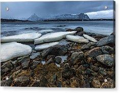 Granite And Ice Acrylic Print
