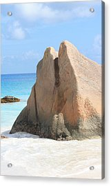 Acrylic Print featuring the photograph Granite Rock by Debbie Cundy